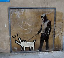 Banksy Himself?? by RooStreetz