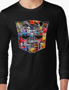 TRANSFORMERS FIGURES!!! Generation 1 Autobot Logo  Long Sleeve T-Shirt