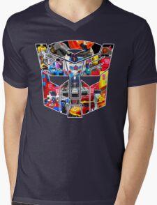 TRANSFORMERS FIGURES!!! Generation 1 Autobot Logo  Mens V-Neck T-Shirt