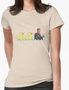 Duck...Duck...Goose! Womens Fitted T-Shirt