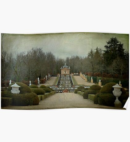 Winter at the gardens Poster