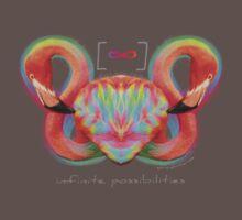 Infinite Possibilities - (Neon Infinity Flamingo) T-Shirt