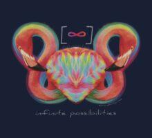 Infinite Possibilities - (Neon Infinity Flamingo) Kids Clothes