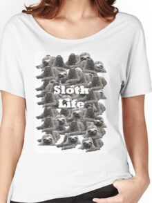 Sloth Life Women's Relaxed Fit T-Shirt
