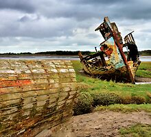 Abandoned Wreck by towerphotos