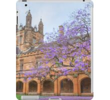 Spring Colour at Sydney Uni iPad Case/Skin