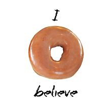 I donut believe! by atheistcards