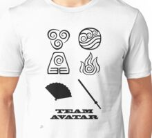 Avatar the Last Airbender: Team Avatar White Unisex T-Shirt