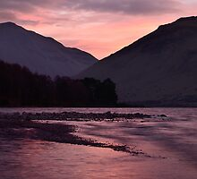 Sunrise at Wastwater by towerphotos