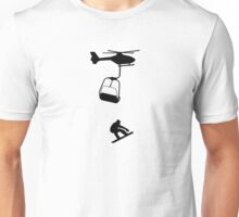 Snowboard,Snowboarder,Ski,Skiing,Apres Ski,Powder Unisex T-Shirt