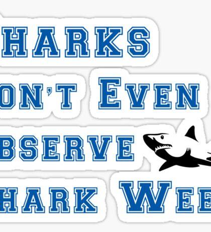 Community - Shark Week Shirt Sticker