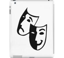 Theater masks actor iPad Case/Skin