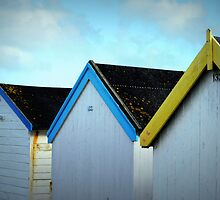 Beach Huts - Goring by Sea by Ms-Bexy