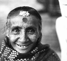 Nepali Woman by Zachary Provost