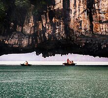 Stone Arch: Halong Bay, Vietnam by thewaxmuseum