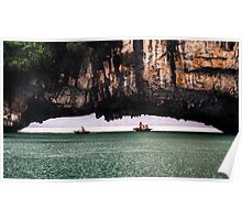 Stone Arch: Halong Bay, Vietnam Poster