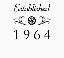 Established 1964 T-Shirt Womens Fitted T-Shirt