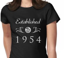 Established 1954 T-Shirt Womens Fitted T-Shirt