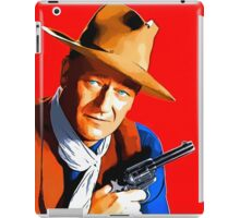 John Wayne in Rio Bravo iPad Case/Skin