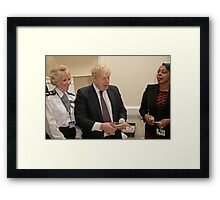 Boris Johnson  Framed Print