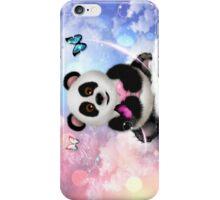 Panda Bear Dreams - On Cloud 9 iPhone Case/Skin