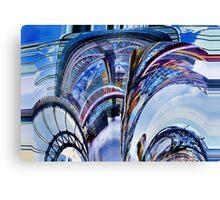 Tyne Bridges Abstract Canvas Print