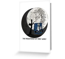 The Persistence of Timey Wimey Grunge Greeting Card
