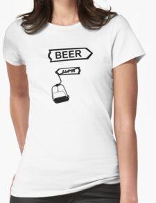 apres ski, ski, party, winter, snowboard,ride,hut Womens Fitted T-Shirt