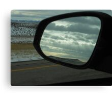 Clouds in the Mirror Canvas Print