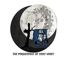 The Persistence of Timey Wimey Grunge - White by Silverepiphany