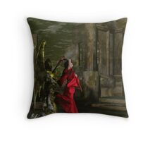 Catphrodite's Red Wind Killing Floor - part 6 Throw Pillow
