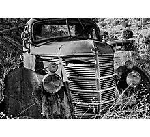 International - Black and White Photographic Print