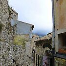 A Cloudy Day In Eze by Fara