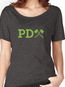 PD Axe Stand Alone Women's Relaxed Fit T-Shirt
