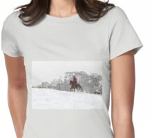 Snow Rider - Nowendoc NSW Womens Fitted T-Shirt