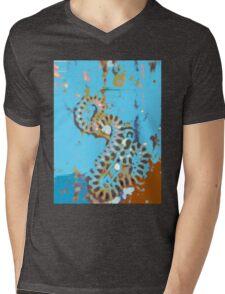 Desert Off road Long sleeve Shirt snakedesign hoodie Mens V-Neck T-Shirt