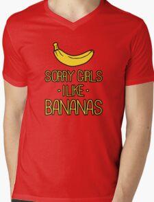 sorry girls i suck dick Mens V-Neck T-Shirt