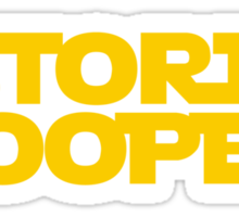 Storm pooper Sticker
