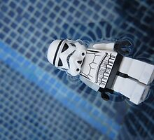 Dave Stormtrooper Tenerife in Pool by apawdesign