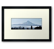 Hood with Weather Framed Print