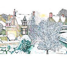 Snow scene number 2 Photographic Print