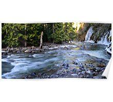 Winter Cascades Cascades Poster