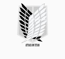 Attack On Titan: Wings of Freedom with Text Unisex T-Shirt