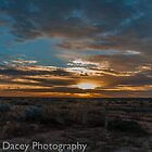 desert sunrise  by warren dacey