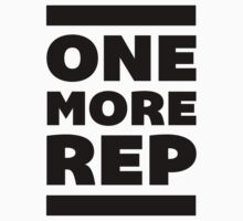 ONE MORE REP by J B