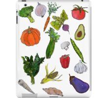 vegetables iPad Case/Skin