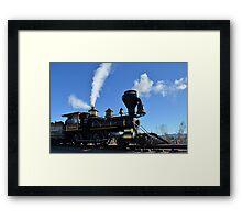 Steam Engine Train Framed Print