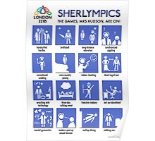 Sherlympics (print or poster) Poster
