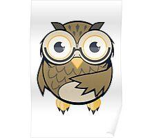 Smarty Pants! Owl Buddy Poster