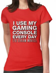 $400 Streaming Movie Machine Womens Fitted T-Shirt